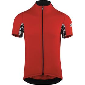 assos Mille GT Koszulka kolarska, krótki rękaw Mężczyźni czerwony/czarny